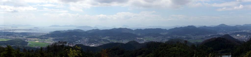 浅口市パノラマー遥照山よりー