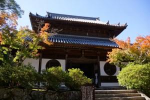 井山宝福寺本堂