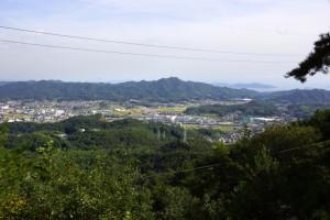 里庄町の眺め