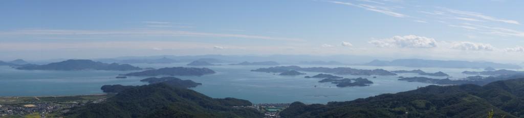 瀬戸内海 from 金甲山