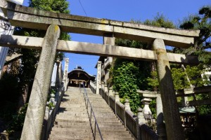 羽黒神社参道