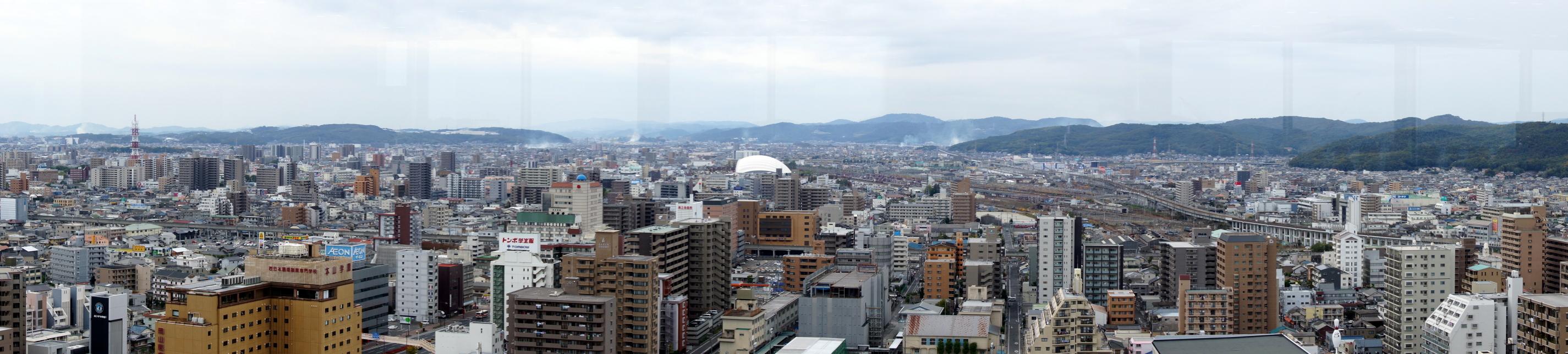 okayama-city-kita-ward-panorama