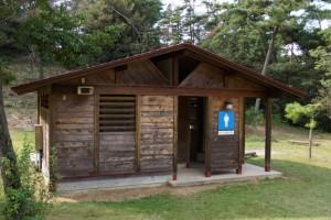 里庄美しい森ートイレ棟ー