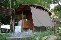 としおじさんのキャンプ場ートイレー