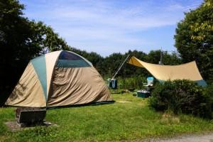 チロリン村キャンプグランドーキャンプ風景ー