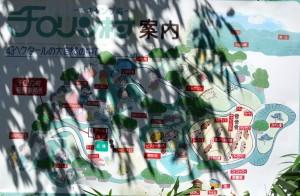 チロリン村キャンプグランドー案内図ー