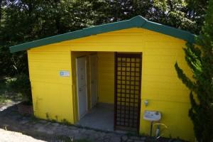 チロリン村キャンプグランドートイレー