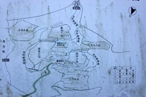 藤波池周辺案内図