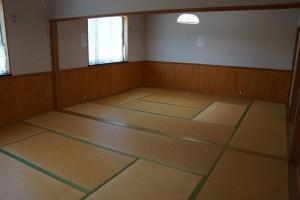 布都美林間学校キャンプ場ー宿泊室ー
