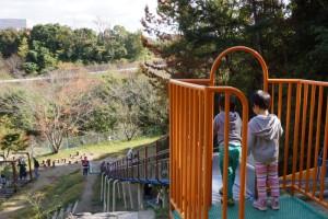 早島ふれあいの森公園ーすべり台ー