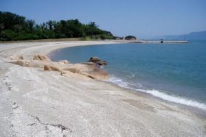 犬島ビーチー夏は海水浴場にー