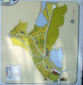 犬島キャンプ場ーガイドマップー
