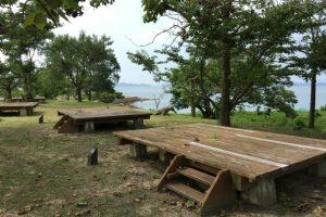 デッキサイトー犬島キャンプ場ー