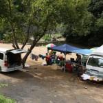小森キャンプ場ーデイキャンプ風景ー