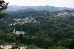 弥高山公園キャンプ場ー高山市方面ー