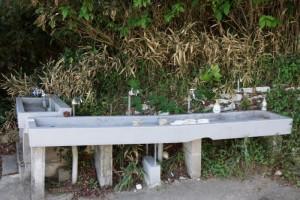 洗い場ー前島海水キャンプ場ー