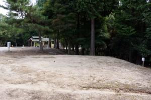 弥高山公園キャンプ場ー赤松キャンプサイトー
