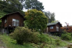 弥高山公園キャンプ場ーバンガローー
