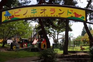 弥高山公園キャンプ場ーピノキオランドー
