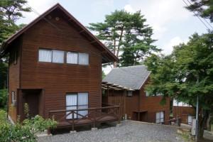 弥高山公園キャンプ場ー貸別荘ー