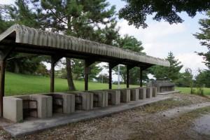 弥高山公園キャンプ場ーさくらサイト・炊事場ー