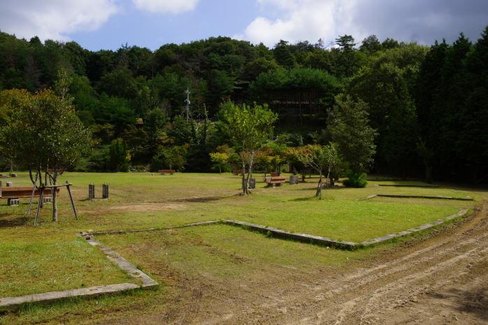 望ヶ丘キャンプ場ーキャンプサイトー
