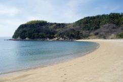 下浦キャンプ場ービーチー