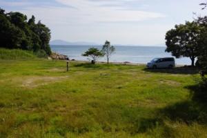 サンビーチ前島ーキャンプサイトー