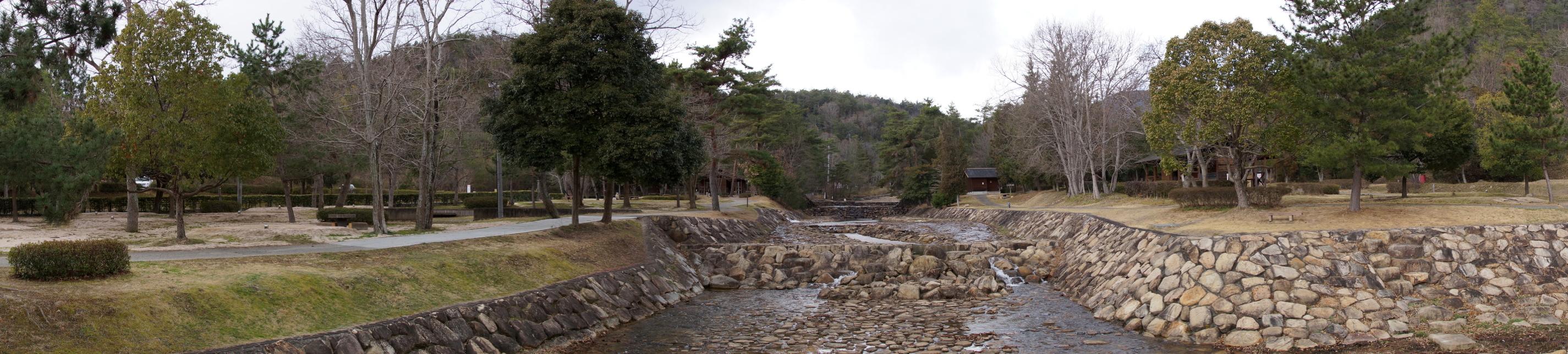 砂川公園キャンプ場ーパノラマー