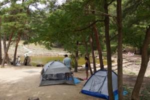 砂川公園ーキャンプ風景ー