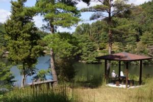 高梁自然公園ー休憩舎ー