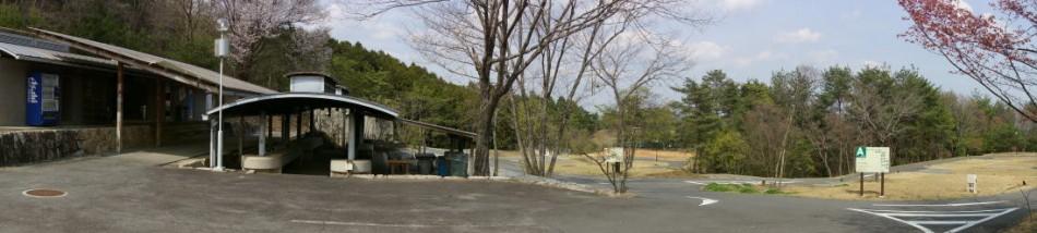 たけべの森公園キャンプ場ーパノラマー