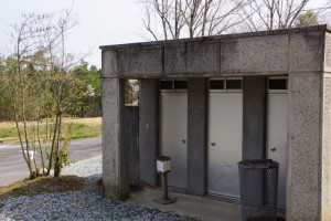たけべの森キャンプ場ーシャワー棟ー
