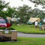 吉井竜天キャンプ場ーキャンプ風景ー
