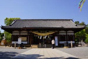 阿智神社ー拝殿ー