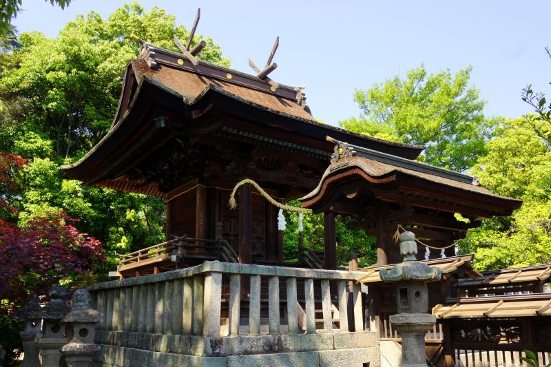 阿智神社ー本殿ー