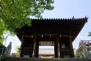 阿智神社-随神門ー