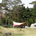 トムソーヤ冒険村キャンプ場ーキャンプ風景ー