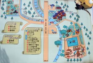 トムソーヤ冒険村ー案内図ー