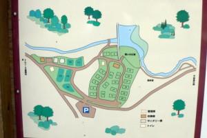 トムソーヤ冒険村キャンプ場ー案内図ー