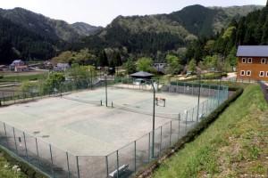 トムソーヤ冒険村ーテニスコートー