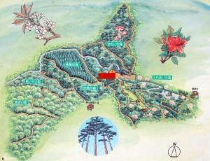 高梁美しい森ー案内図ー