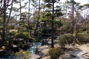 新渓園の庭ー倉敷ー