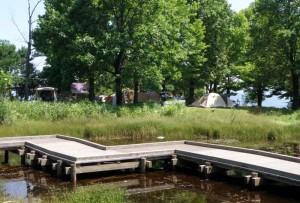 蒜山高原キャンプ場ー湿性植物園ー