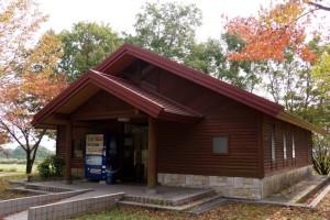 蒜山高原キャンプ場ーサニタリーハウスー