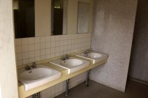 蒜山高原キャンプ場ー手洗い場ー