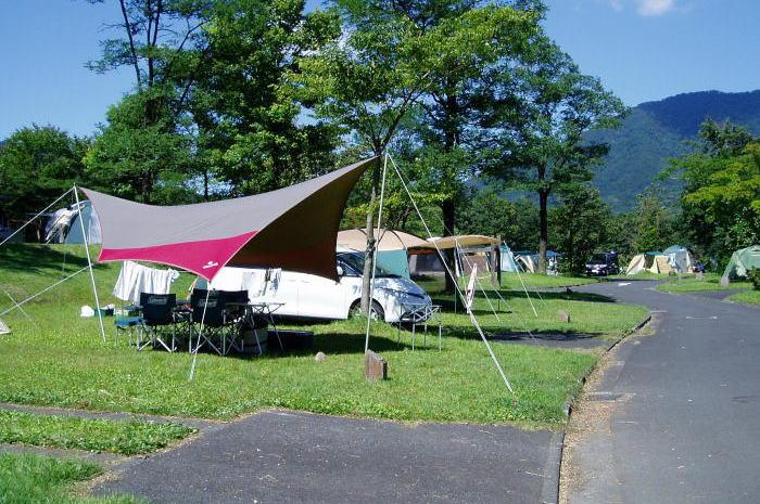 蒜山高原キャンプ場ーキャンプ風景ー