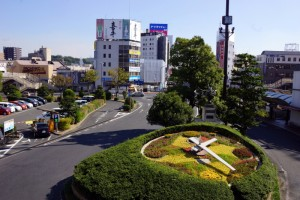 JR倉敷駅南口広場