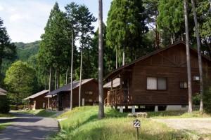 黒木キャンプ場ー第3キャンプ場バンガローー