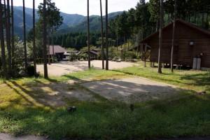 黒木キャンプ場ー第3キャンプ場テントサイトー
